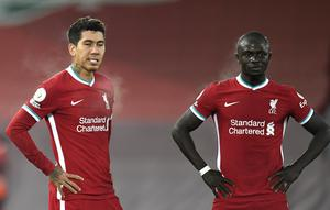 Roberto Firmino and Sadio Mane are performing well below their best form (Peter Powell/PA)