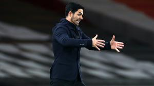 Arsenal manager Mikel Arteta feels small margins have made a big difference this season (Clive Rose/PA)
