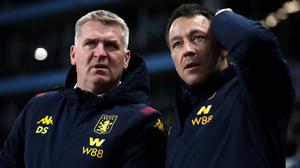 Aston Villa boss Dean Smith insists that no one has approached them about offering John Terry a management job (Nick Potts/PA)
