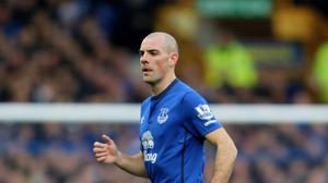 Darron Gibson has been charged with drink-driving
