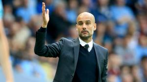 Pep Guardiola was happy with the performance against West Ham