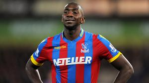 Crystal Palace have no intention of selling Yannick Bolasie