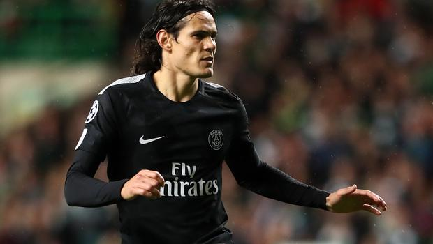 A move to Chelsea did not happen for Edinson Cavani (Andrew Milligan/PA)