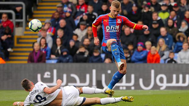 Crystal Palace's Max Meyer will miss the trip to Manchester City with an ankle injury (Isabel Infantes/PA)