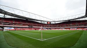 Arsenal games have again been played behind closed doors at the Emirates Stadium (Glyn Kirk/NMC Pool/PA)