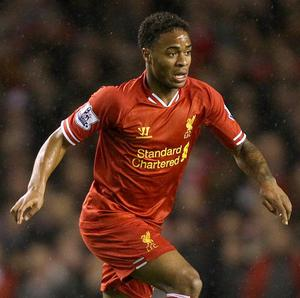 Raheem Sterling, pictured, has been backed by Steven Gerrard to make England's World Cup squad