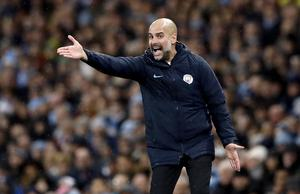 Pep Guardiola is keeping faith in his players and his style (Martin Rickett/PA)
