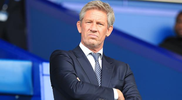 Everton's director of football Marcel Brands admits the club cannot buy at the top end of the market (Peter Byrne/PA)
