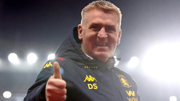Aston Villa manager Dean Smith is hoping Carabao Cup success can inspire his side in the Premier League. (Nick Potts/PA)