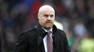 Sean Dyche does not expect the pandemic to hamper Burnley in this summer's transfer market (Martin Rickett/PA)