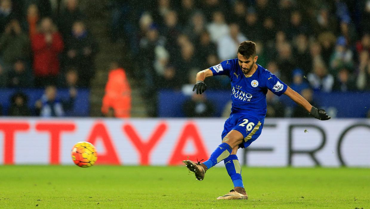 Claudio Ranieri happy to put Riyad Mahrez on the spot ...