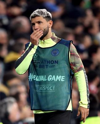 Sergio Aguero hit out at a Wigan fan after they had allegedly abused the Manchester City forward (Nick Potts/PA)