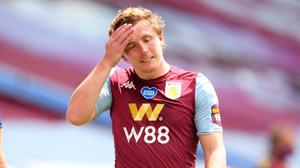"""Aston Villa defender Matt Targett admits a late equaliser at Everton was a """"kick in the teeth"""" (Laurence Griffiths/NMC Pool)"""