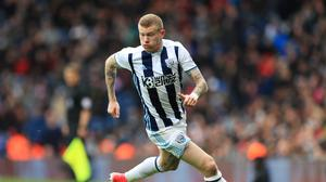 West Brom's James McClean says he never planned to play for Northern Ireland at senior level