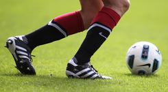Crusaders defender Kyle Owens admits his side must start moving through the gears in the Danske Bank Premiership title sprint. (stock photo)
