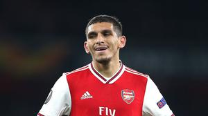 Lucas Torreira is set for a spell on the sidelines with a fractured ankle. (Nigel French/PA)