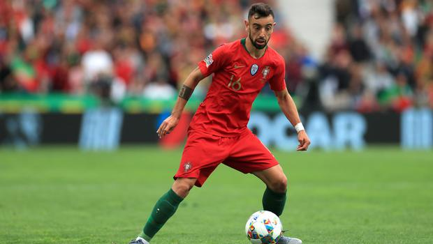 Bruno Fernandes could be on the move in the summer (Mike Egerton/PA)