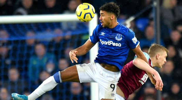 Dominic Calvert-Lewin, pictured, must sharpen his focus in front of goal, says his manager Carlo Ancelotti (Anthony Devlin/PA)