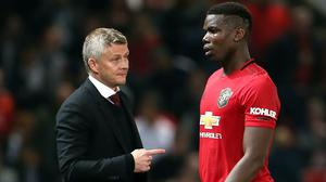 Ole Gunnar Solskjaer is backing Paul Pogba to kick on strongly (Richard Sellers/PA)