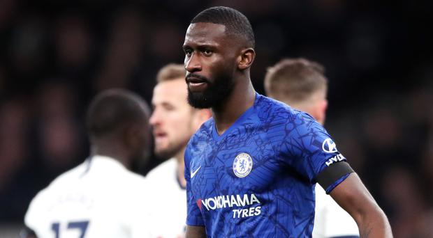 Antonio Rudiger reported what he thought was racist abuse to his captain (Nick Potts/PA)