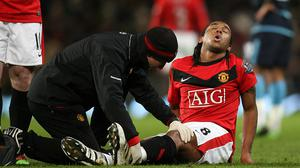 Anderson has blamed injury for curtailing his Manchester United career.