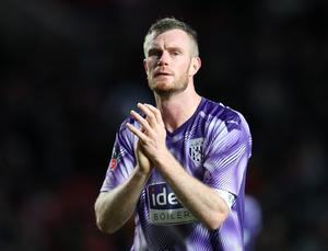 Moving on: Chris Brunt will not have his West Brom contract renewed