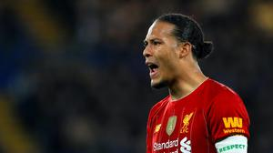 Virgil Van Dijk, pictured, has issued a rallying cry for Liverpool's long-term ambitions (Mike Egerton/PA)
