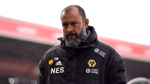Nuno has switched his focus back to securing a strong league finish (Anthony Devlin/PA)