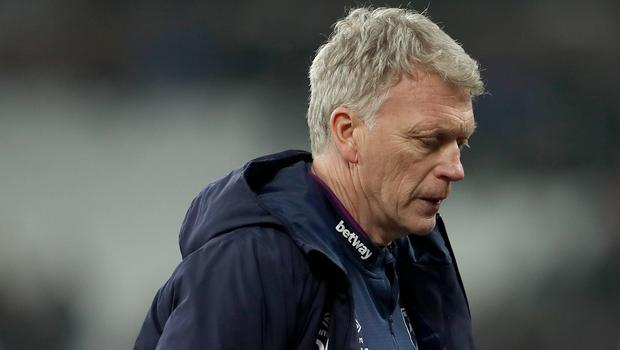 David Moyes faces a battle to keep West Ham in the Premier League (Bradley Collyer/PA).