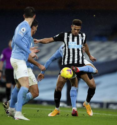 Bruce felt Newcastle showed some spirit in defeat at Manchester City (Clive Brunskill/PA)