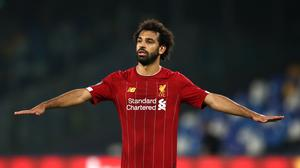 Mohamed Salah was on target in Liverpool's 4-0 victory against Crystal Palace last week (Tim Goode/PA)
