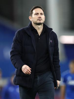 Frank Lampard, pictured, has thrown his support behind Chelsea striker Timo Werner (Clive Brunskill/PA)