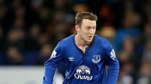Three clubs are interested in taking Everton winger Aiden McGeady on loan