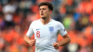 Harry Maguire continues to be the subject of transfer speculation (Mike Egerton/PA)