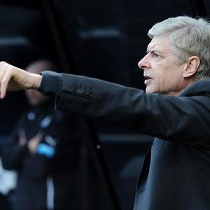 Arsenal manager Arsene Wenger is looking for another striker