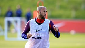 England's Andros Townsend has returned to the squad after missing Euro 2016