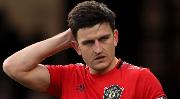 Harry Maguire could feature for Manchester United against Norwich (Mike Egerton/PA)