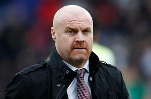 Keep going: Sean Dyche wants to complete the season