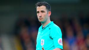 Chris Kavanagh has been promoted to the PGMOL's elite list of referees