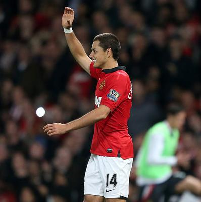 Javier Hernandez has scored one goal for Manchester United this season