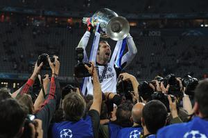 Petr Cech won the 2012 Champions League with Chelsea (Owen Humphreys/PA)