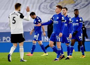 Fulham claimed a surprise win over Leicester on Monday (Rui Vieira/PA)