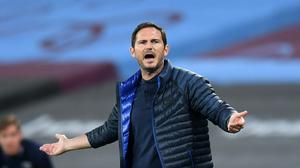 """Frank Lampard, pictured, insists he is not a """"gung-ho"""" manager (Michael Regan/NMC Pool)"""