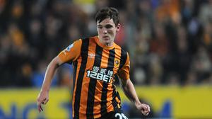 "Andy Robertson feels Hull were beaten by ""the soon-to-be champions"" on Sunday"