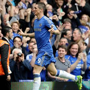 Fernando Torres netted 22 goals in 64 appearances for Chelsea this season
