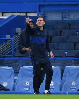 Frank Lampard, pictured, is excited to point to a big future to fast-developing talent Christian Pulisic (Mike Hewitt/NMC Pool)