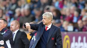 Arsene Wenger admitted Arsenal were fortunate to win