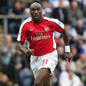 "Former Arsenal defender Sol Campbell, pictured, hopes his old side will buy players to ""frighten"" the opposition"