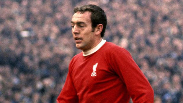 Ian St John died on Monday evening following illness (PA)