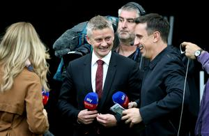 Ole Gunnar Solskjaer agrees with former United team-mate Gary Neville's views on the squad's progress (Nigel French/PA)